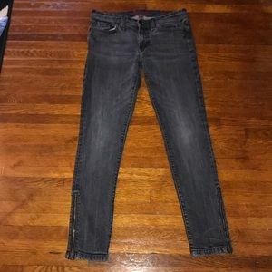 Banana Republic Ankle Zipper Jeans